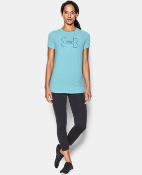 Best Seller Women's UA Big Logo Short Sleeve  2 Colors $24.99