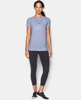 Best Seller Women's UA Big Logo Short Sleeve  1 Color $14.99 to $17.99