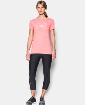 Best Seller Women's UA Big Logo Short Sleeve  1 Color $14.99 to $18.99