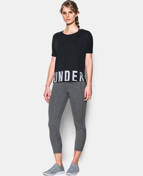 Women's UA Wordmark Hem Cropped  2 Colors $20.99 to $27.99