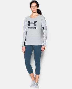 Women's UA Rest Day Sportstyle Long Sleeve  1  Color Available $26.99