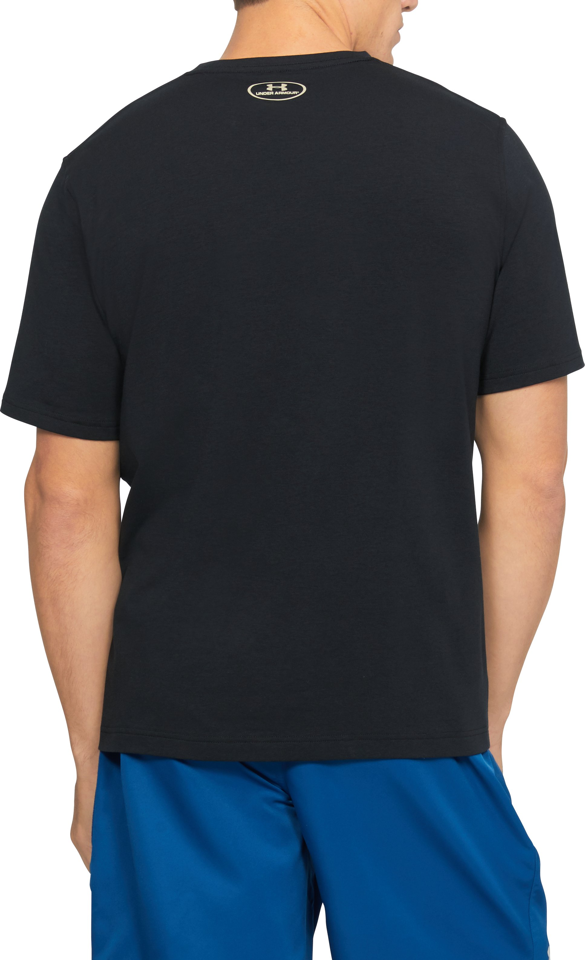 Men's UA Fly Logo T-Shirt, Black , undefined