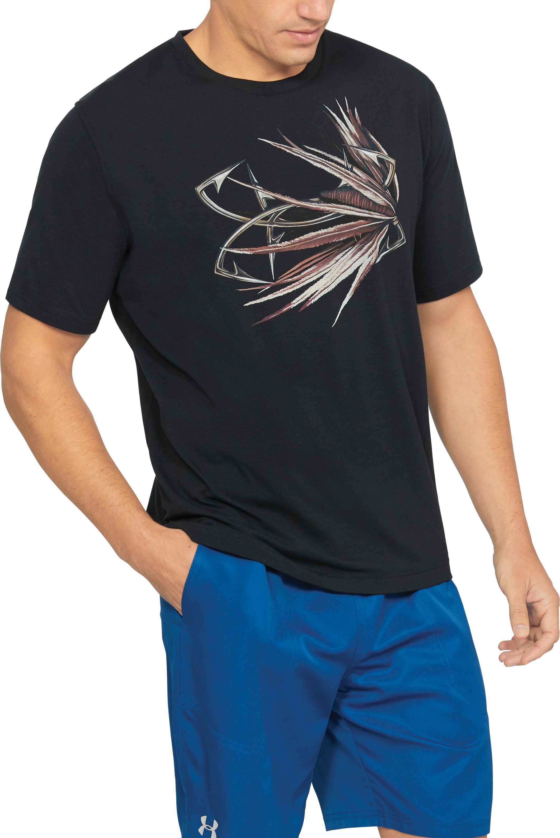 Men's UA Fly Logo T-Shirt, Black