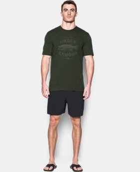 New Arrival Men's UA Classic Bass T-Shirt  1 Color $24.99