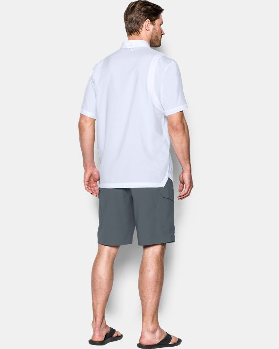 Men's UA Tide Chaser Short Sleeve, White, pdpMainDesktop image number 1