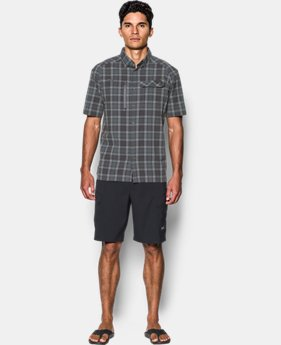 Men's UA Fish Hunter Plaid Short Sleeve LIMITED TIME OFFER 1 Color $48.09
