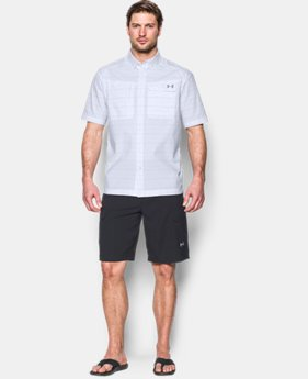 Men's UA Fish Hunter Plaid Short Sleeve LIMITED TIME OFFER  $48.74
