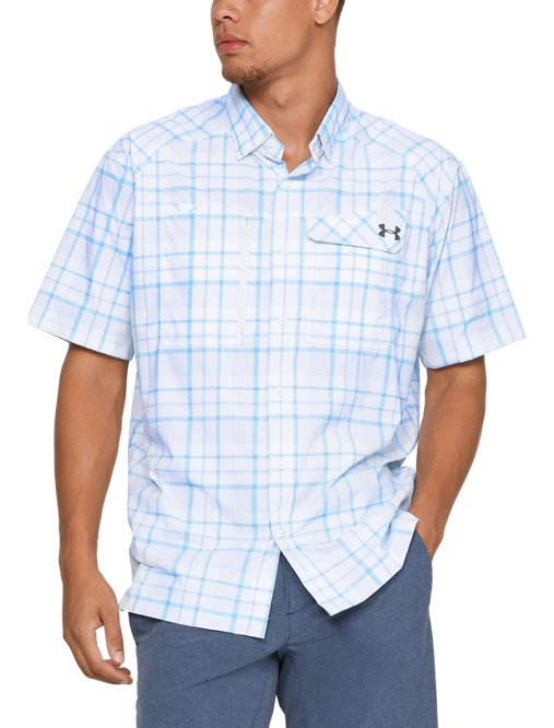 This review is fromMen s UA Fish Hunter Plaid Short Sleeve. 119e680493dd0