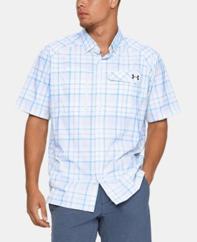 Men's UA Fish Hunter Plaid Short Sleeve   $64.99