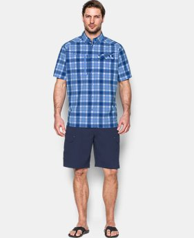 Men's UA Fish Hunter Plaid Short Sleeve  3 Colors $48.99
