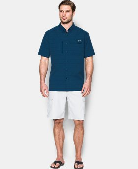 Men's UA Fish Hunter Plaid Short Sleeve  4 Colors $64.99