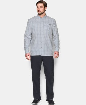 Men's UA Fish Hunter Plaid Long Sleeve   $74.99