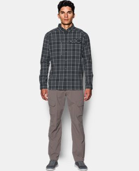 Men's UA Fish Hunter Plaid Long Sleeve  3 Colors $84.99