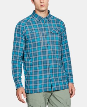Men's UA Fish Hunter Plaid Long Sleeve  3 Colors $56.99