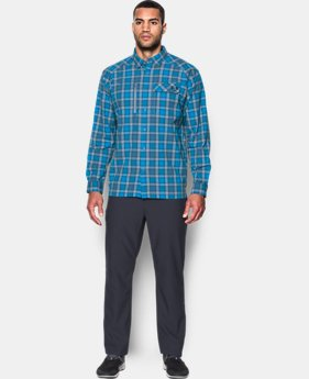 Men's UA Fish Hunter Plaid Long Sleeve LIMITED TIME OFFER 8 Colors $56.24