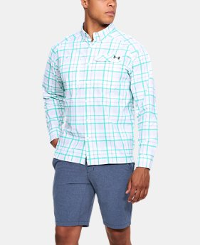 Men's UA Fish Hunter Plaid Long Sleeve  8 Colors $74.99