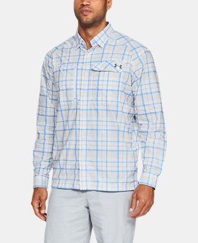 Men's UA Fish Hunter Plaid Long Sleeve  2  Colors Available $84.99