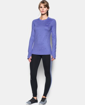 Women's UA ColdGear® Armour Graphic Crew LIMITED TIME: FREE SHIPPING  $48.74