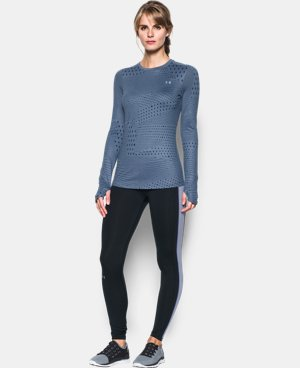 Women's UA ColdGear® Armour Graphic Crew LIMITED TIME: FREE SHIPPING 3 Colors $48.74