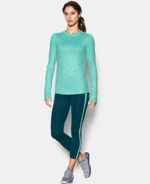 Women's UA ColdGear® Armour Graphic Crew LIMITED TIME OFFER + FREE U.S. SHIPPING  $41.24