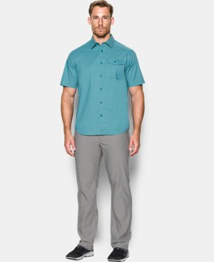 New Arrival Men's UA Backwater Short Sleeve  1 Color $74.99