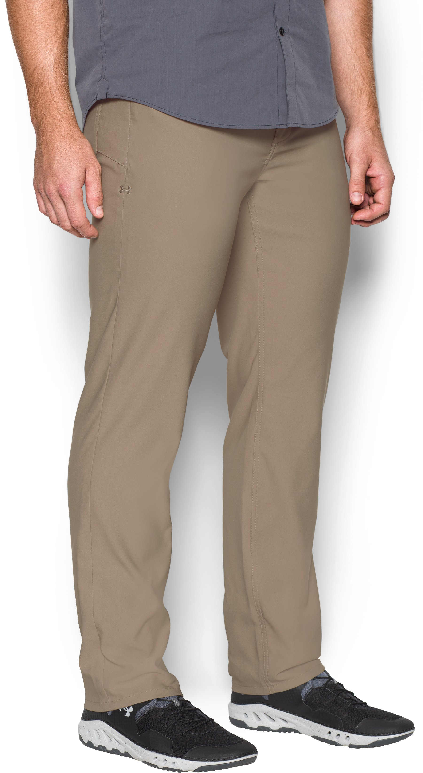 Men's UA Storm Covert Pants, Dune, undefined