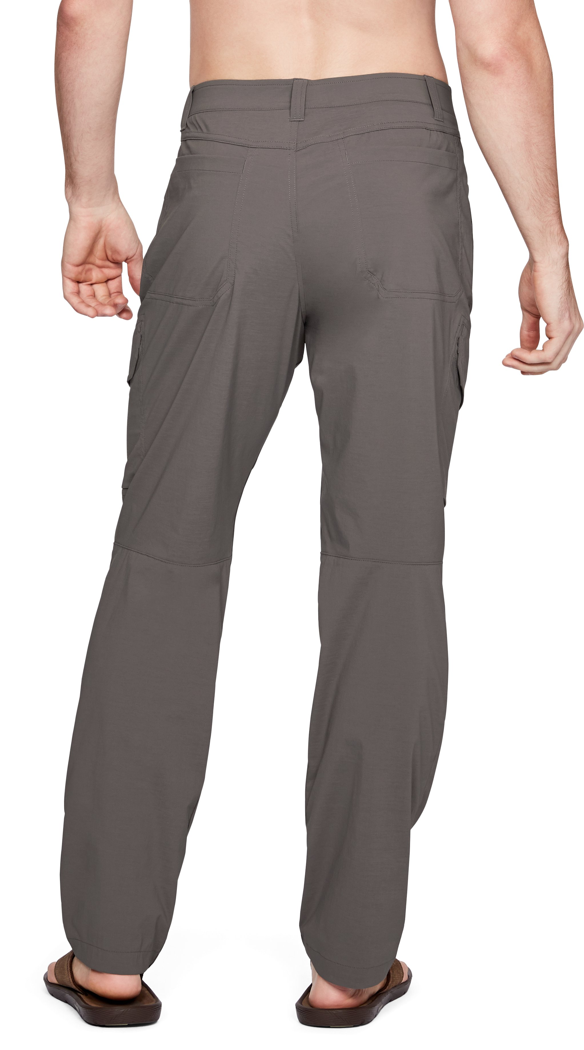 Men's UA Fish Hunter Cargo Pants, FRESH CLAY, undefined