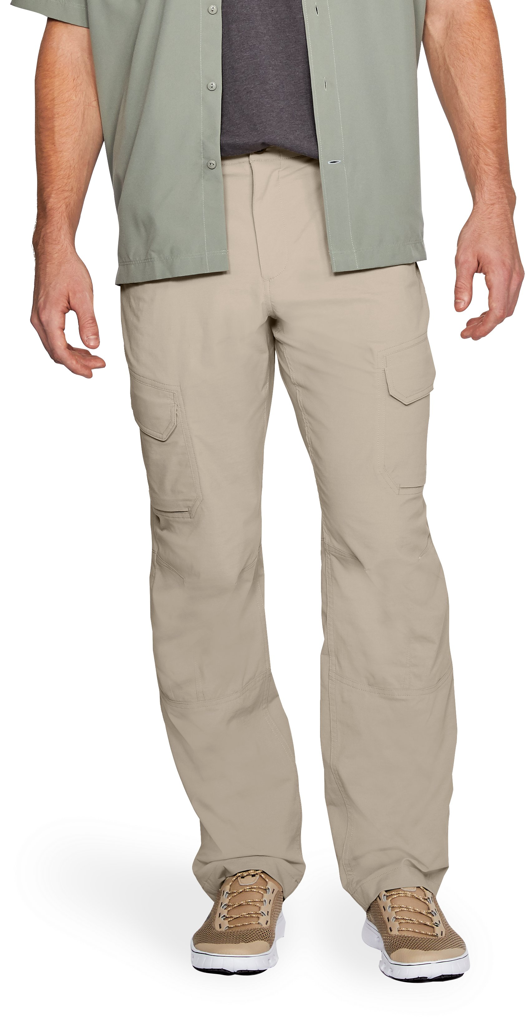 Men's UA Fish Hunter Cargo Pants, CITY KHAKI
