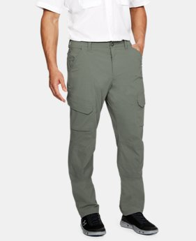 Men's UA Fish Hunter Cargo Pants  1  Color Available $67.49 to $67.5