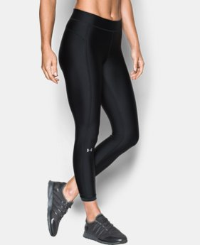 Women's UA HeatGear® Armour Ankle Crop  2  Colors Available $26.99 to $33.99