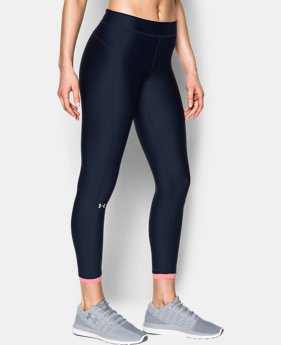 Women's UA HeatGear® Armour Ankle Crop  2 Colors $44.99