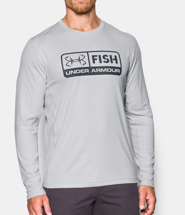 Ua fish hunter long sleeve under armour us for Under armour fish hunter shirt