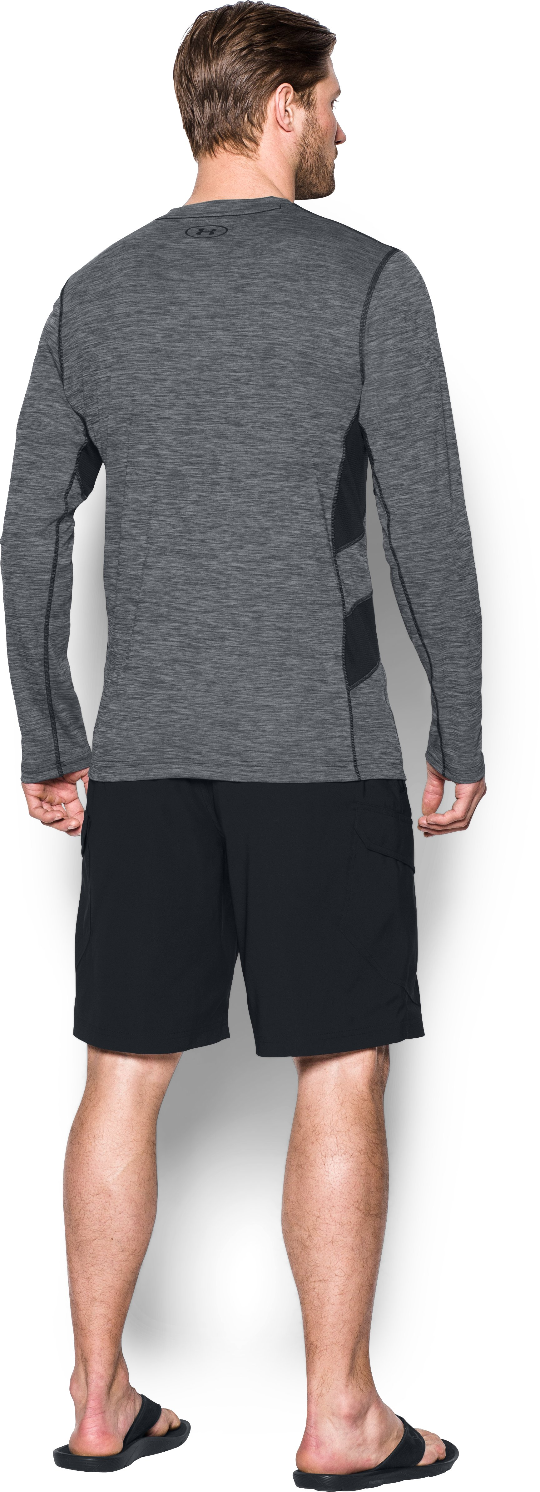UA Fish Hunter Long Sleeve, Black , Back