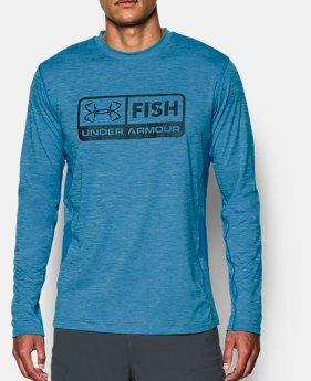 8aaeb8a0a1 Blue HeatGear Fishing   Under Armour US
