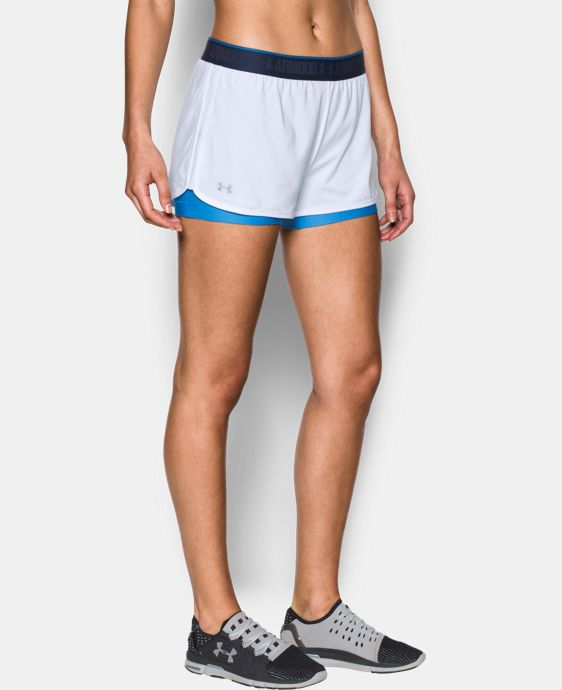 New Arrival Women's UA HeatGear® Armour 2-In-1 Shorty  3 Colors $39.99