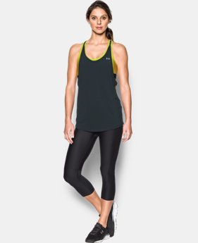 Women's UA HeatGear® Armour 2-In-1 Tank  3 Colors $24.99 to $37.49