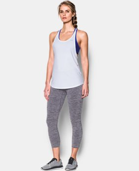 Women's UA HeatGear® Armour 2-In-1 Tank  1 Color $25 to $34.99