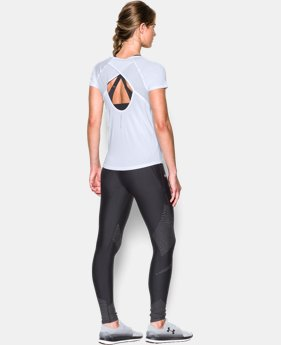 Women's UA Fly-By Short Sleeve  1 Color $33.74