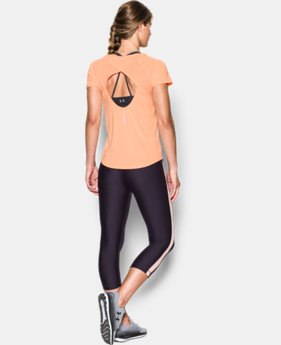 Women's UA Fly-By Short Sleeve  2 Colors $27.99 to $29.99