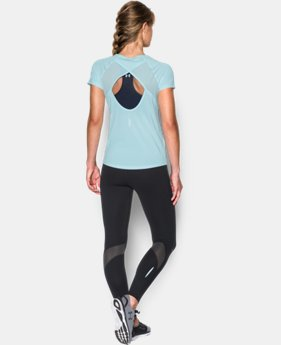 Women's UA Fly-By Short Sleeve  1 Color $26.99