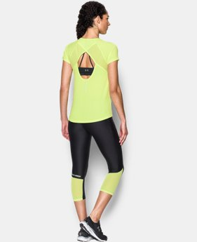 Women's UA Fly-By Short Sleeve  1 Color $20.99 to $22.49