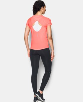 Women's UA Fly-By Short Sleeve  1 Color $27.99
