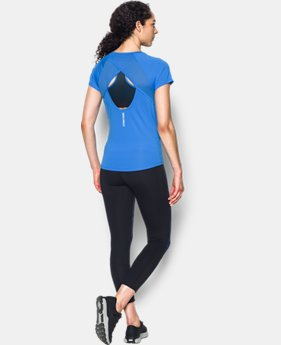 Women's UA Fly-By Short Sleeve  3 Colors $39.99