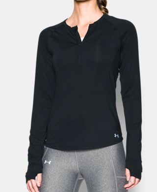 Women's UA Fly-By 1/2 Zip