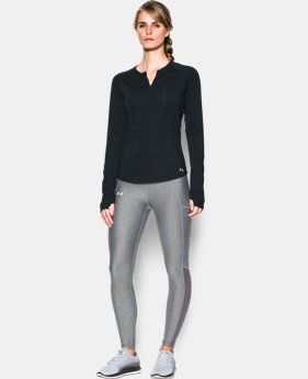 Women's UA Fly-By 1/2 Zip  1  Color Available $38.99 to $48.74