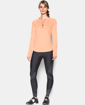 Women's UA Fly-By 1/2 Zip  1 Color $32.99 to $41.24
