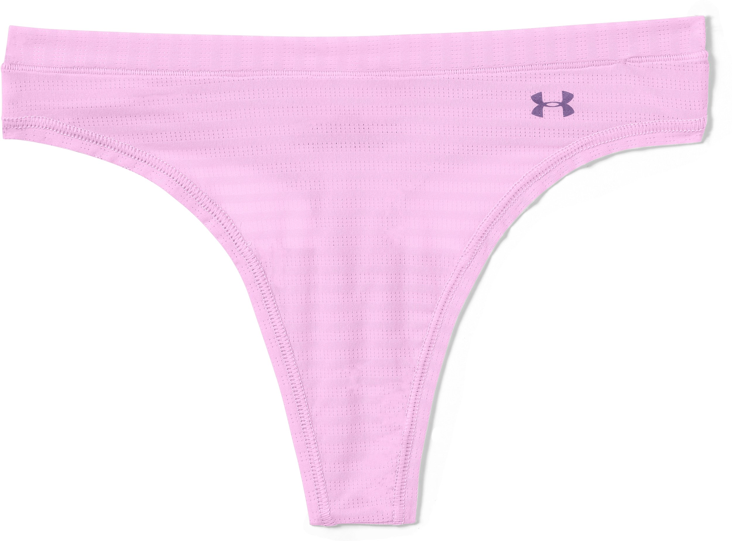Women's UA Pure Stretch - Sheer Thong, ICELANDIC ROSE, Laydown