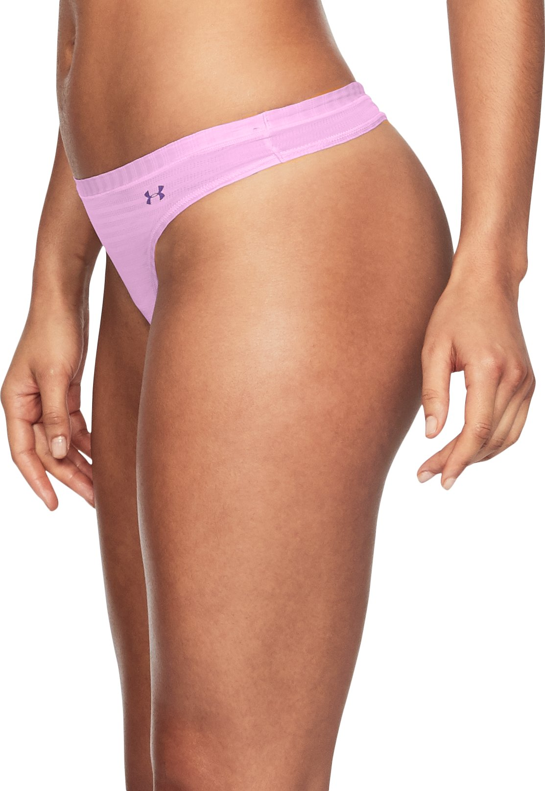 Women's UA Pure Stretch - Sheer Thong, ICELANDIC ROSE, undefined