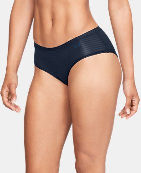 Women's UA Pure Stretch - Sheer Hipster   $12