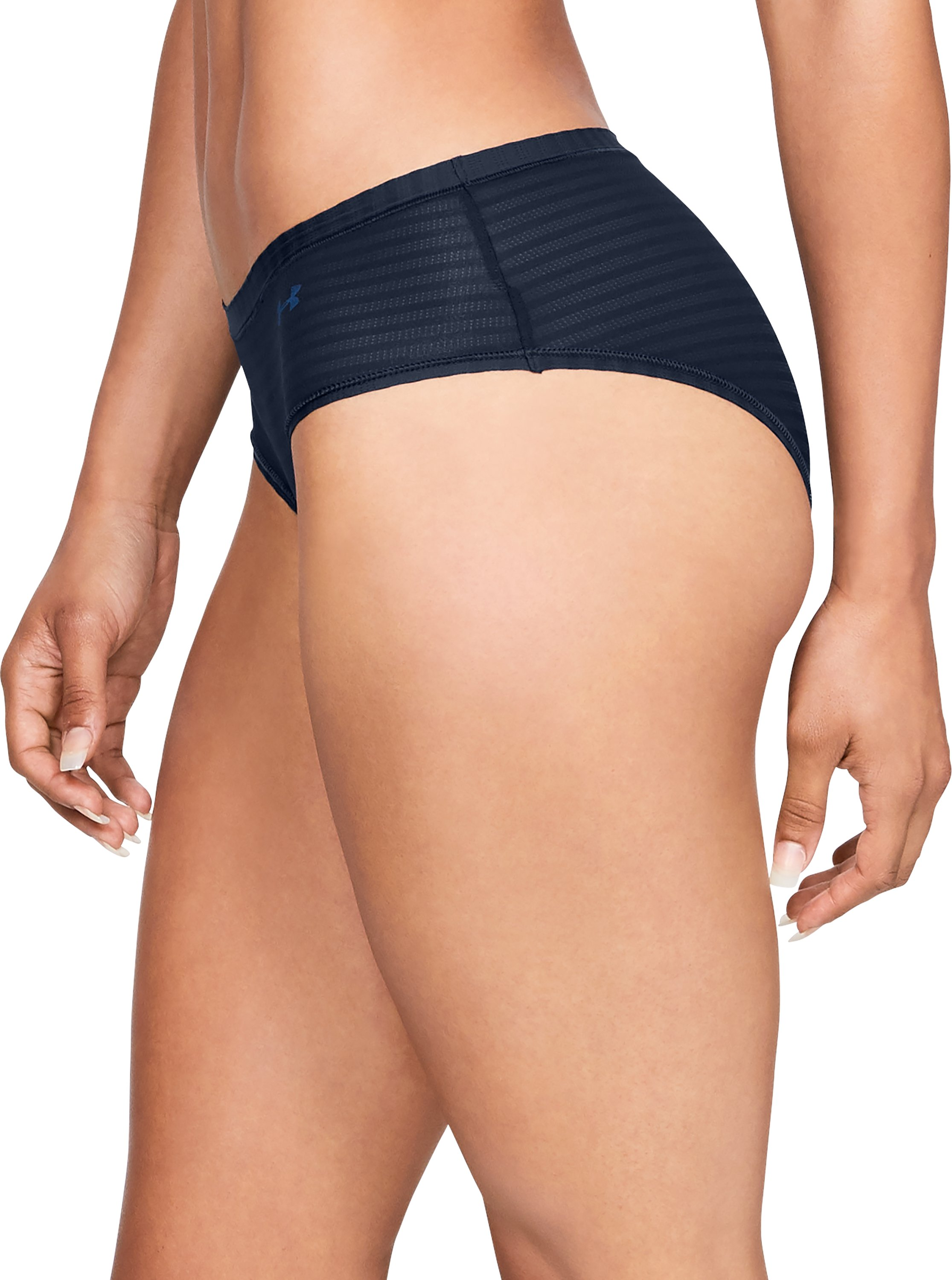 Women's UA Pure Stretch - Sheer Hipster, Academy,